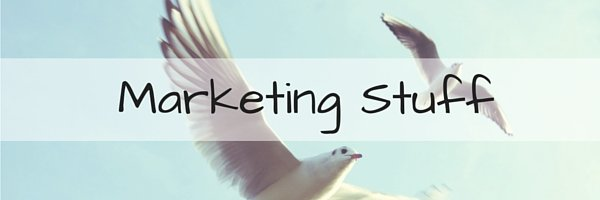 Marketing Stuff new header