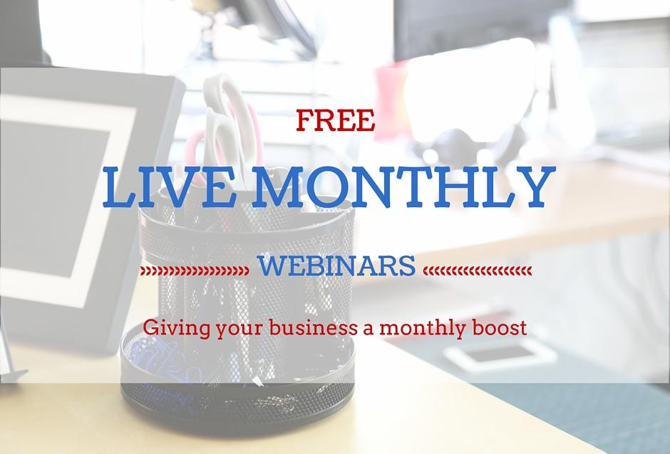 Monthly Webinars 1
